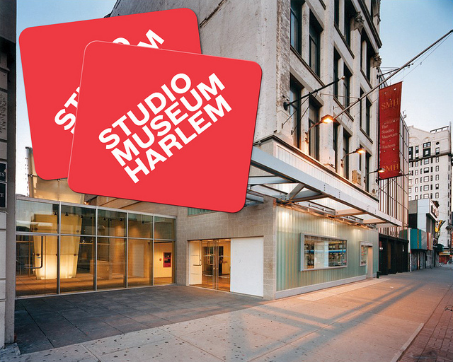Studio Museum building on 125th Street in Harlem NY USA