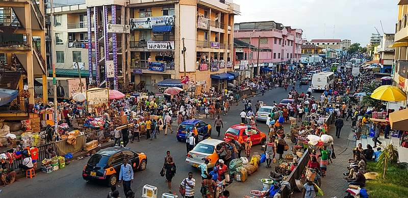 Accra Ghana which can be visited during the 2019 Return to Ghana Celebration